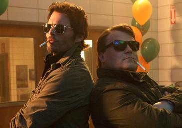 James Marsden and Jack Black in The D Train (photo courtesy of IFC Films)