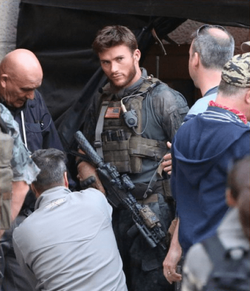 Scott Eastwood in an unknown role.
