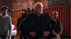 Ron Perlman (SONS OF ANARCHY) plays Viktor in SKIN TRADE. Photo courtesy of something.