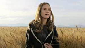 Britt Robertson (THE LONGEST RIDE) plays Casey Newton, a young lady with a drive to do big things and change the world. Photo courtesy of Walt Disney Pictures.