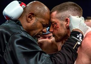 Forest Whitaker and Jake Gyllenhaal in Southpaw. Photo courtesy of The Weinstein Company.