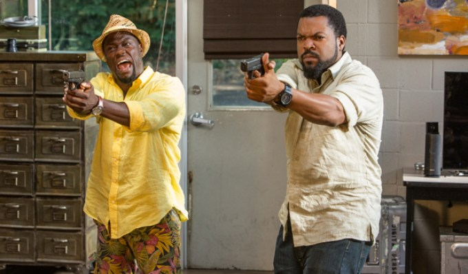 Ride Along 2's Kevin Hart And Ice Cube. Courtesy Of Universal Pictures
