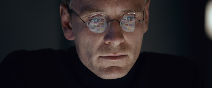 Michael Fassbender in STEVE JOBS. Courtesy of Universal Pictures.