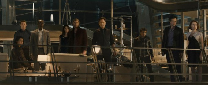 in AVENGERS AGE OF ULTRON. Photo courtesy of Marvel/ Disney.