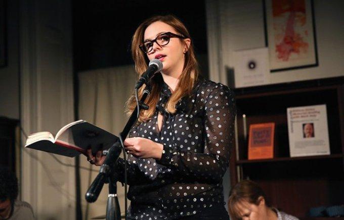 Amber Tamblyn reads DARK SPARKLER.
