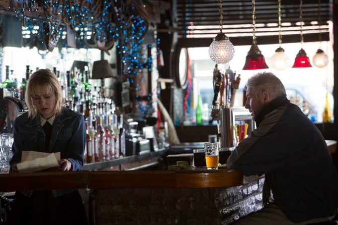 Jena Malone and Richard Gere play daughter and father in TIME OUT OF MIND. Photo courtesy of.