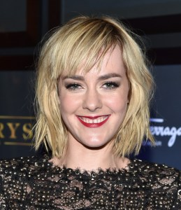 Jena Malone at the premiere of TIME OUT OF MIND at the Toronto International Film Festival. Photo courtesy of Getty Images.