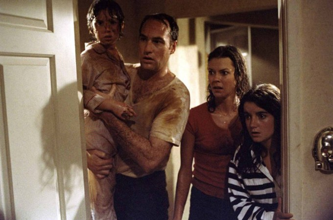 The Freeling family from POLTERGEIST 2015.