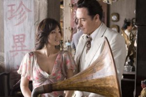 Gong Li and John Cusack in SHANGHAI. Courtesy of The Weinstein Company.