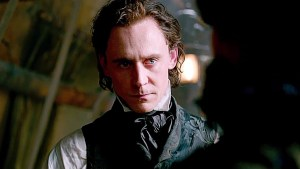 Tom Hiddleston is Sir Thomas Sharpe in CRIMSON PEAK. Photo courtesy of Universal Pictures.