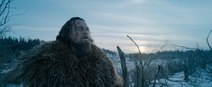Leonardo DiCaprio stars in THE REVENANT, an immersive and visceral cinematic experience capturing one manÕs epic adventure of survival and the extraordinary power of the human spirit. Courtesy Twentieth Century Fox.