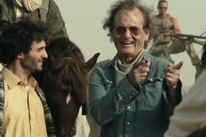 Right, Bill Murray is Richie Lanz in ROCK THE KASBAH. Photo courtesy of Open Road Films.