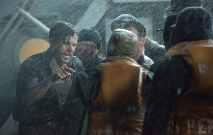 Ray Sybert (Casey Affleck) struggles to keep his ship, the SS Pendleton, from sinking in Disney's THE FINEST HOURS, the heroic action-thirller presented in Digital 3D (TM) and IMAX(c) 3D based on the extraordinary true story of the most daring rescue in the history of the Coast Guard.