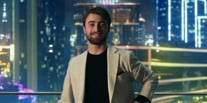 Daniel Radcliffe fails at magic in NOW YOU SEE ME 2... or does he?! Courtesy of Lionsgate/ Summit.