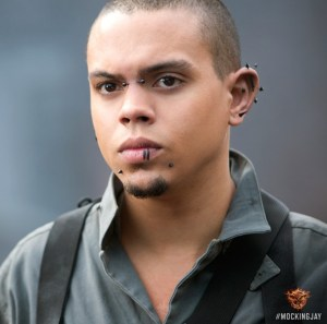 Evan Ross as Messalla in MOCKINGJAY. Photo courtesy of Lionsgate.