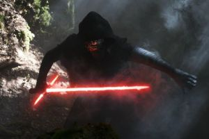 Adam Driver as Kylo Ren. Photo courtesy of Lucasfilm/ Disney.