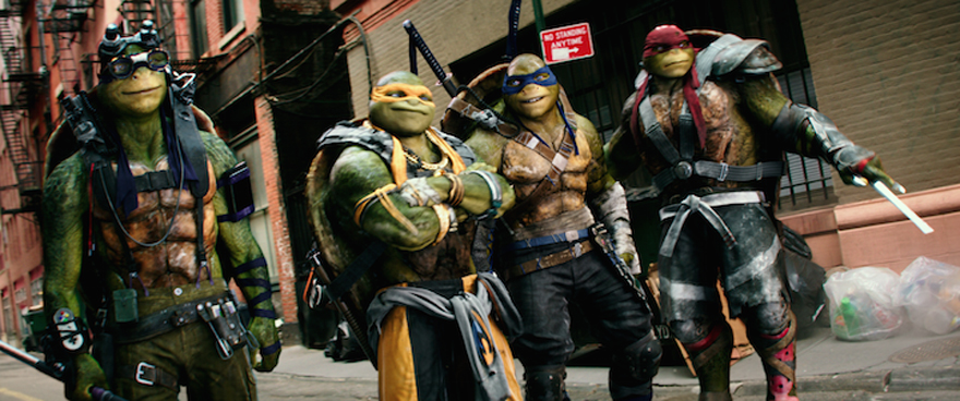 'TEENAGE MUTANT NINJA TURTLES: OUT OF THE SHADOWS' Trailer Teaches Us It's Tricky To Rock A Rhyme & Save Humanity