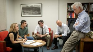 The cast of SPOTLIGHT. Photo courtesy of Open Road Films.