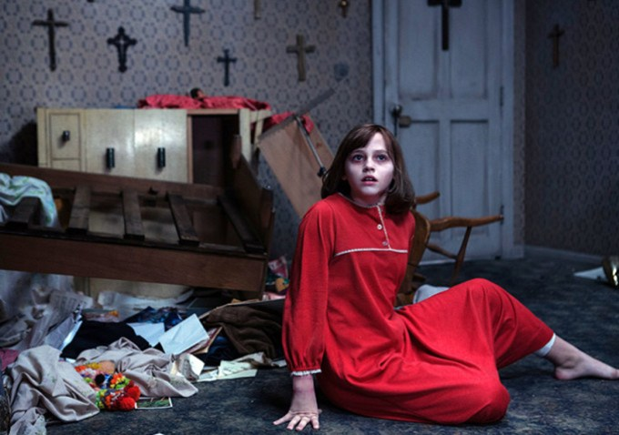 Spooks are a'foot in THE CONJURING 2. Courtesy of Warner Brothers.