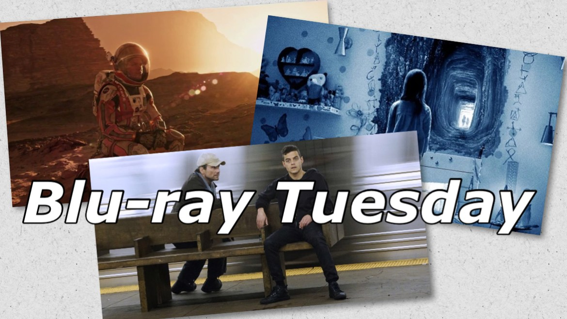 Blu-ray Tuesday: 'THE MARTIAN', 'MR. ROBOT', 'PARANORMAL ACTIVITY 6' and More