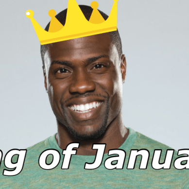 Kevin Hart is the Official King of January