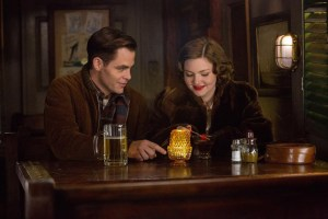 Chris Pine and Holliday Grainger in THE FINEST HOURS. Courtesy of Walt Disney Pictures.