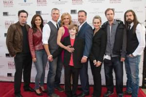 The cast and crew of DAYLIGHT'S END at its premiere at the Dallas International Film Festival. Courtesy Photo.