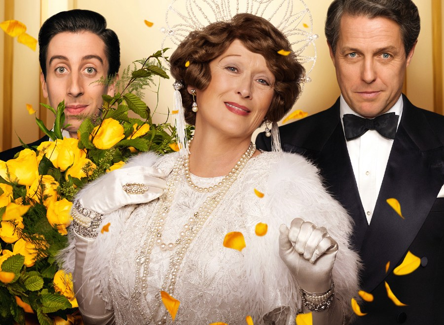 Meryl Streep inspires in the comedy 'FLORENCE FOSTER JENKINS'