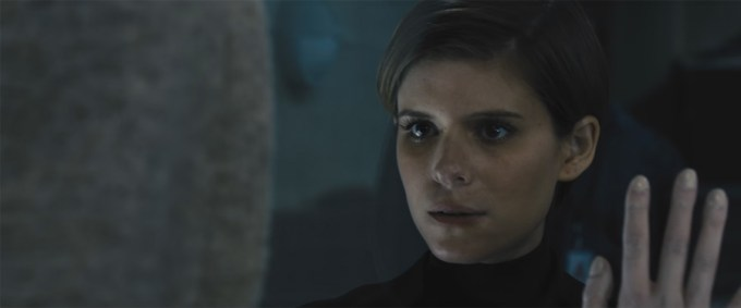 Kate Mara in MORGAN. Courtesy of 20th Century Fox.