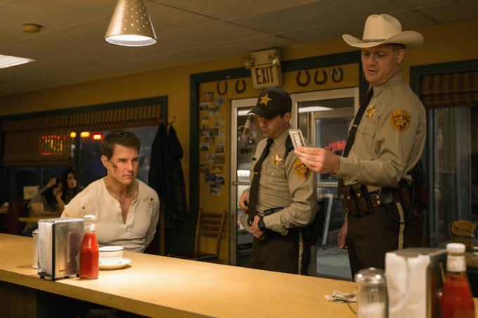 Tom Cruise in JACK REACHER: NEVER GO BACK. Courtesy of Paramount Pictures.