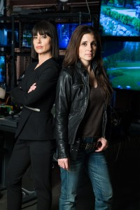 L-R: Constance Zimmer and Shiri Appleby return for Season 2 of UnREAL to give the kind of performances that awards are made for. Photo courtesy of James Dittiger/Lifetime.