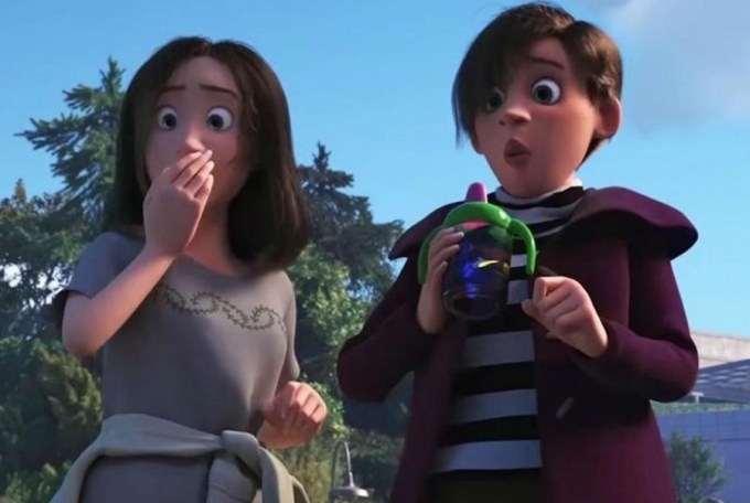 Two women whose sexual preferences have been speculated about far too much in FINDING DORY. Courtesy of Disney-Pixar.