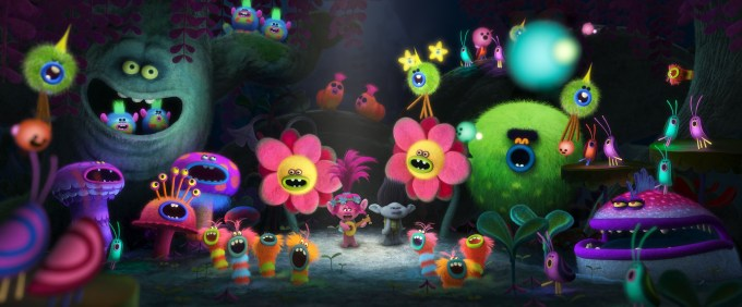 """Poppy (Anna Kendrick) sings """"The Sound of Silence"""" in TROLLS. Courtesy of DreamWorks Animation"""