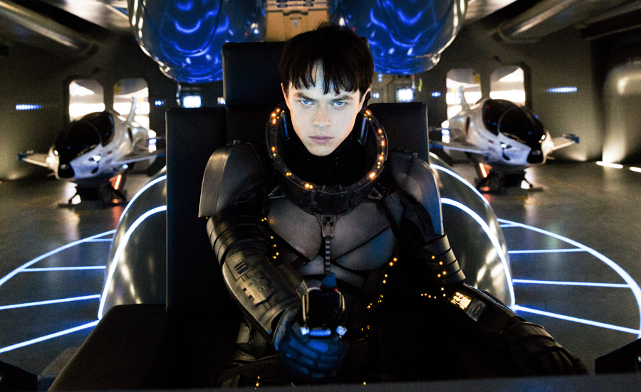 Dane DeHaan plays a 'Space Bro' in 'VALERIAN AND THE CITY OF A THOUSAND PLANETS'