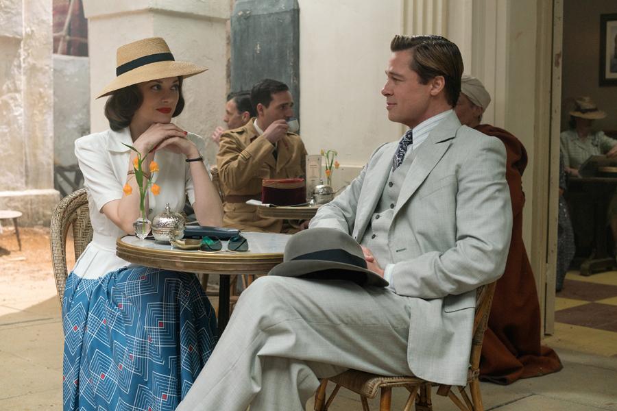 Brad Pitt & Marion Cotillard tease espionage, intrigue & romance in 'ALLIED' trailer