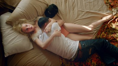 Morgan Saylor and Brian 'Sene' Marc star in WHITE GIRL. Courtesy of FilmRise.