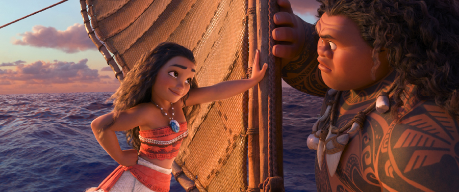 Disney's 'MOANA' inspires & teases a 'Rock'-in' adventure