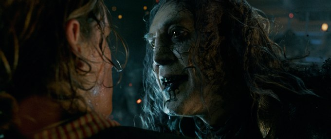 Javier Bardem in PIRATES OF THE CARIBBEAN: DEAD MEN TELL NO TALES. Courtesy of Walt Disney Pictures.