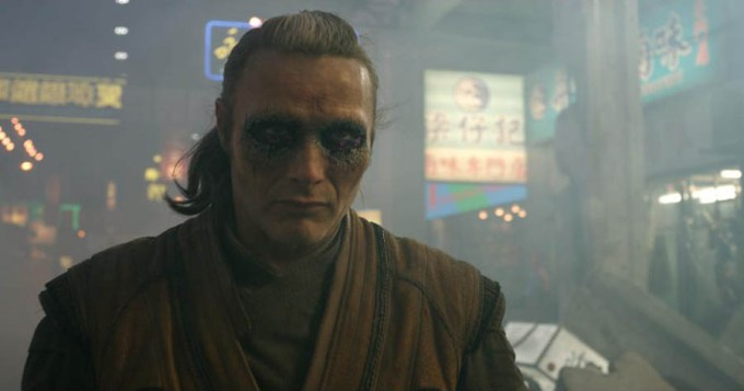 Mads Mikkelsen in DOCTOR STRANGE. Courtesy of Marvel Studios.