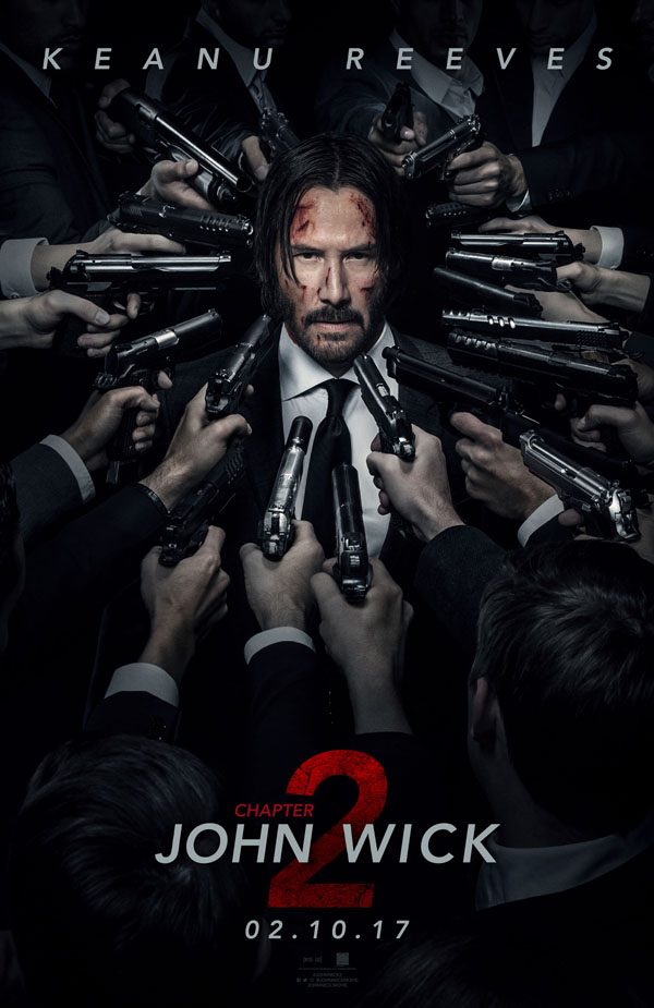 JOHN WICK 2 international poster