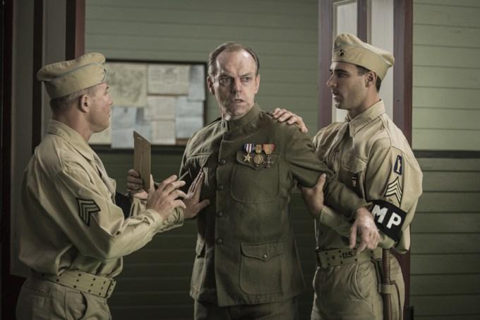Hugo Weaving stars as 'Tom Doss' in HACKSAW RIDGE. Courtesy of Lionsgate