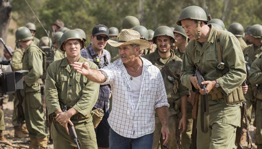 About that Mel Gibson cameo in 'HACKSAW RIDGE'