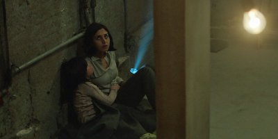 Avin Manshadi and Narges Rashidi star in UNDER THE SHADOW. Courtesy of Vertical Entertainment.