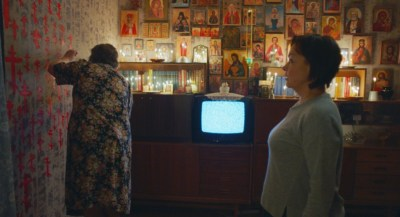 Irina Chipizhenko and Natalya Pavlenkova star in ZOOLOGY. Courtesy of Fantastic Fest/Arrow.