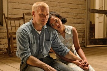 Joel Edgerton (TAKE SHELTER) and Ruth Negga (PREACHER) as Richard and Mildred Loving, a couple whose marriage in 1958 resulted in arrest, in LOVING. Courtesy of Focus Features.