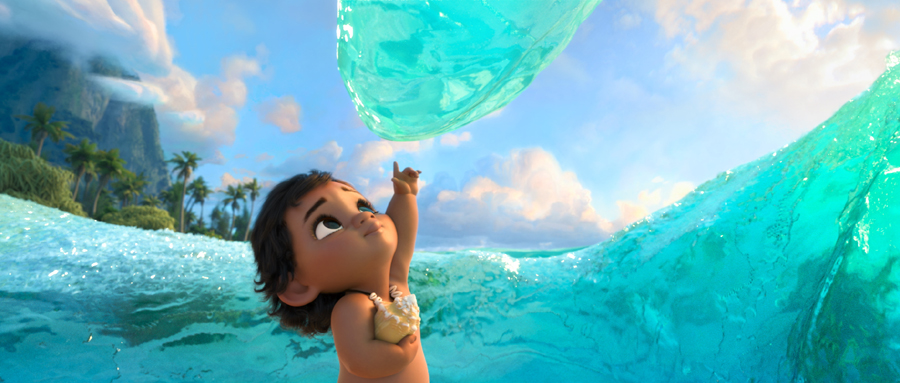 Beyond the sea: The tech behind 'MOANA'