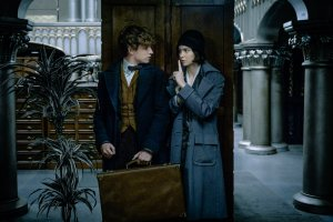 Eddie Redmayne and Katherine Waterston give new adventures to get lost in. Courtesy of Warner Bros.