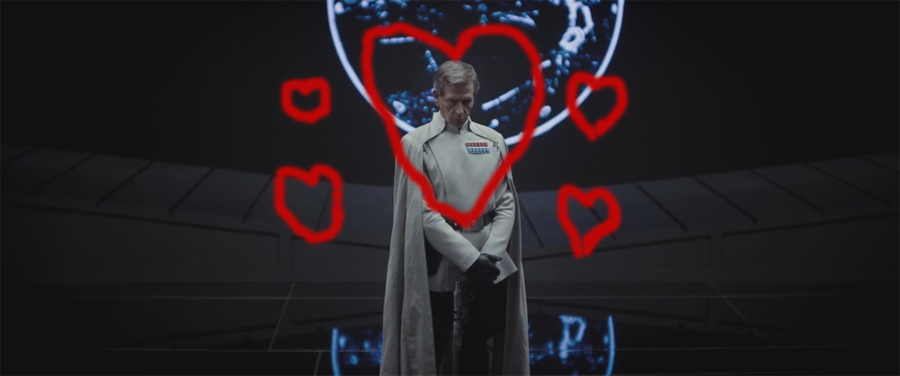 Why ROGUE ONE's Orson Krennic rules and Jyn Erso drools