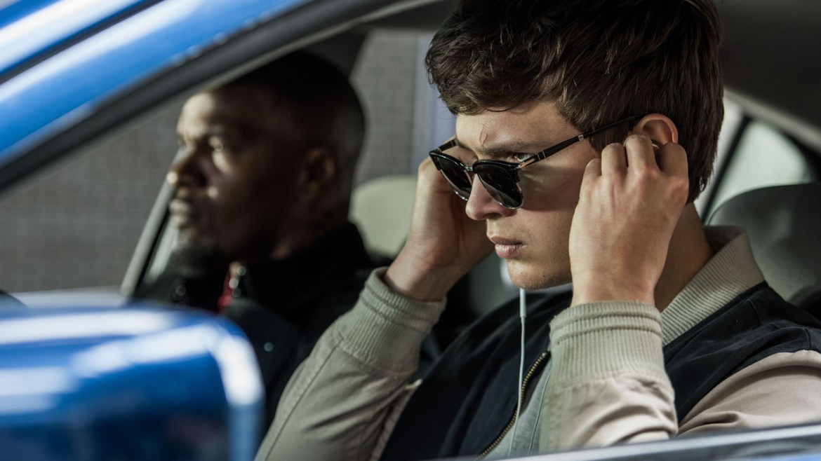 'BABY DRIVER' puts the pedal to the metal creating its unique aesthetic & sonic engine