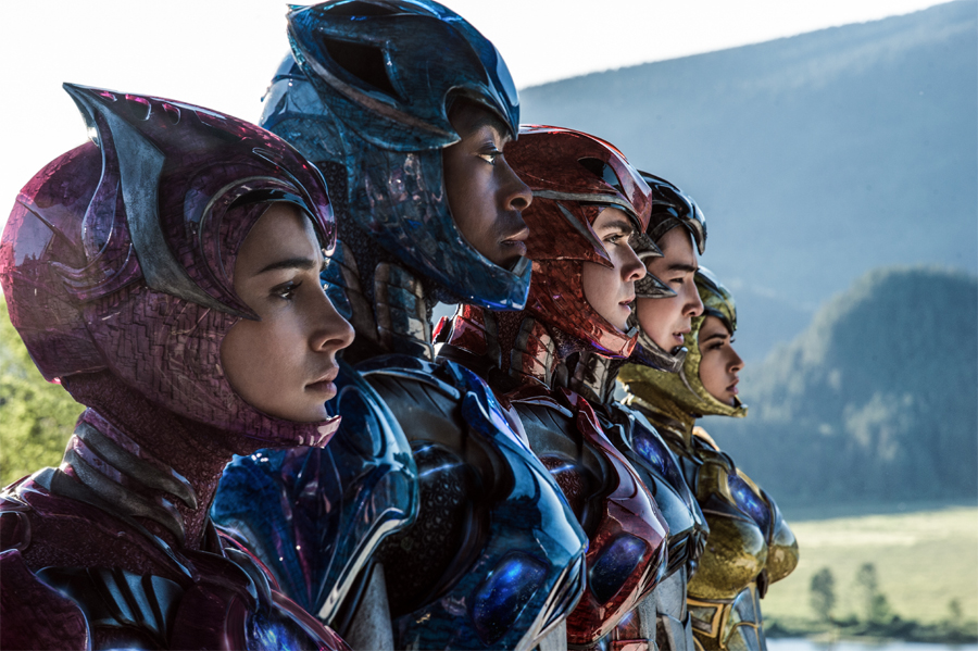 'POWER RANGERS' cast find empowerment through character, costumes & creativity